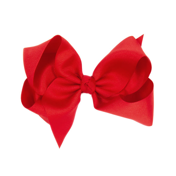 Medium Red Classic Bow