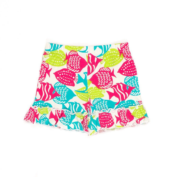 Under the Sea Brailey Ruffle Short