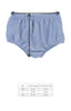Classroom Chambray and Stripes Heidi Chambray Diaper Cover