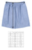 Classroom Chambray and Stripes Mason Short