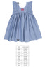 Classroom Chambray and Stripes Lacey Dress