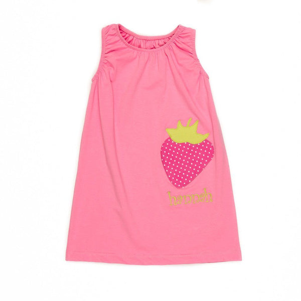 Strawberry Brianna Dress