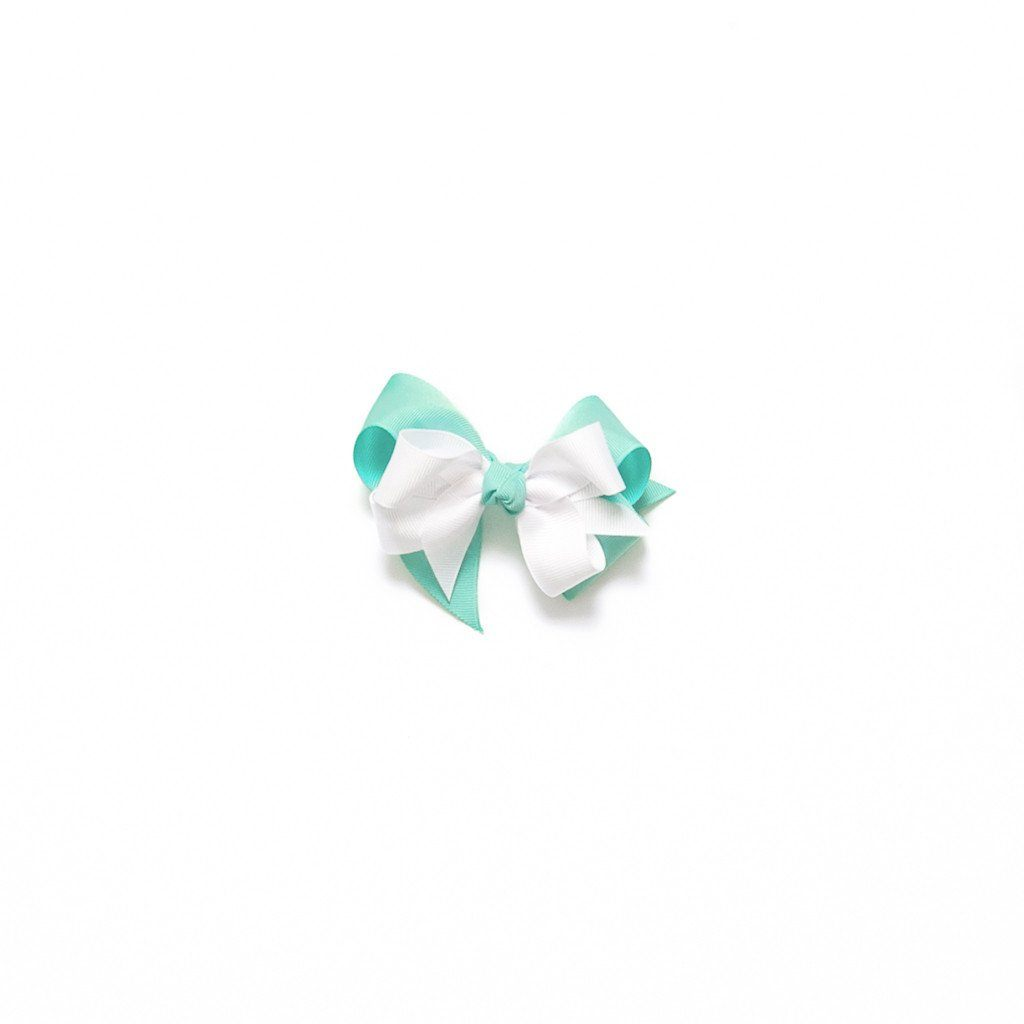 Delightful Damask Small Bow