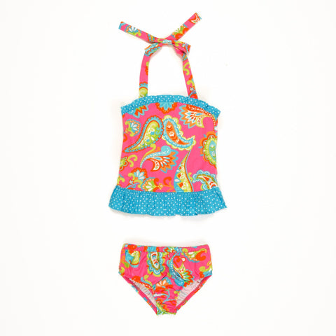 Tropical Punch Liliana Tankini Set