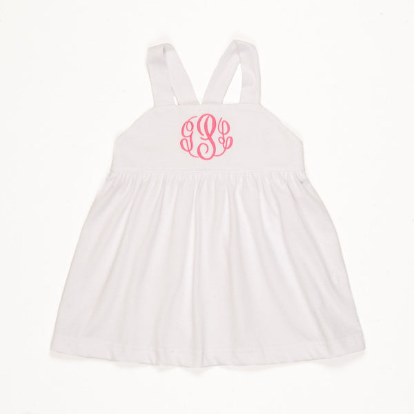 White Kinsley Sun Top