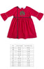 Classic Red Mary Grace Dress
