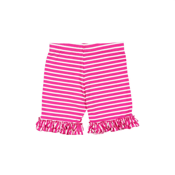 Hot Pink Stripe Brailey Shorts