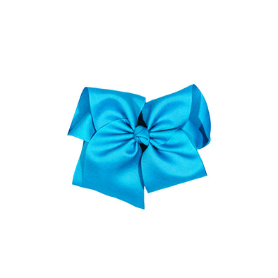 Large Turquoise Classic Bow