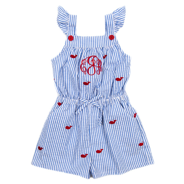 Whales and Watermelons Maya Romper