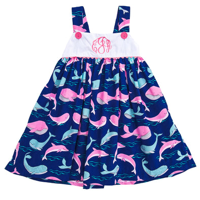 Whale Clementine Dress