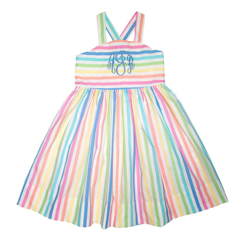 Rainbow Sherbert Caitlyn Dress