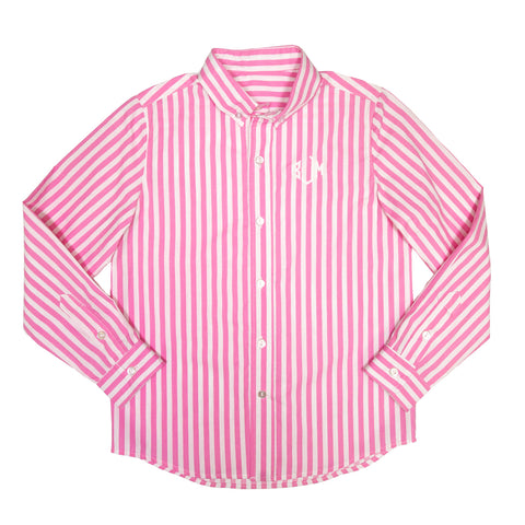 Picture Perfect Pink James Button Down Shirt