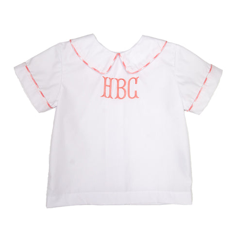 Country Club Coral Bently Shirt