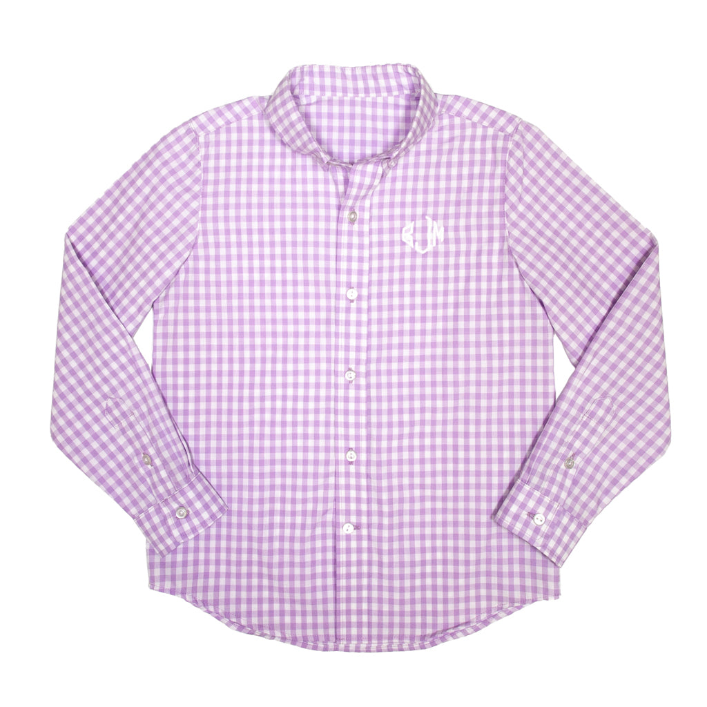 Derby Damask James Button Down