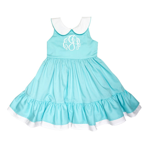 Aqua Sky Isabel Dress