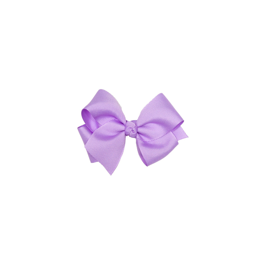 Derby Damask Small Lavender Classic Bow