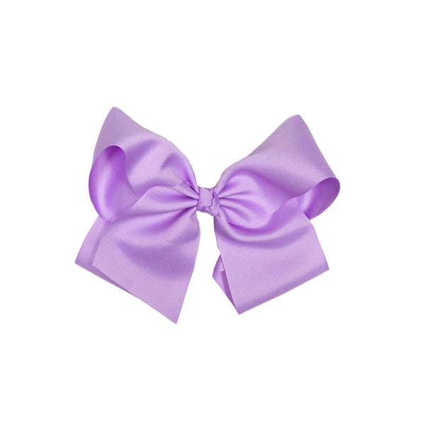 Derby Damask Medium Lavender Classic Bow