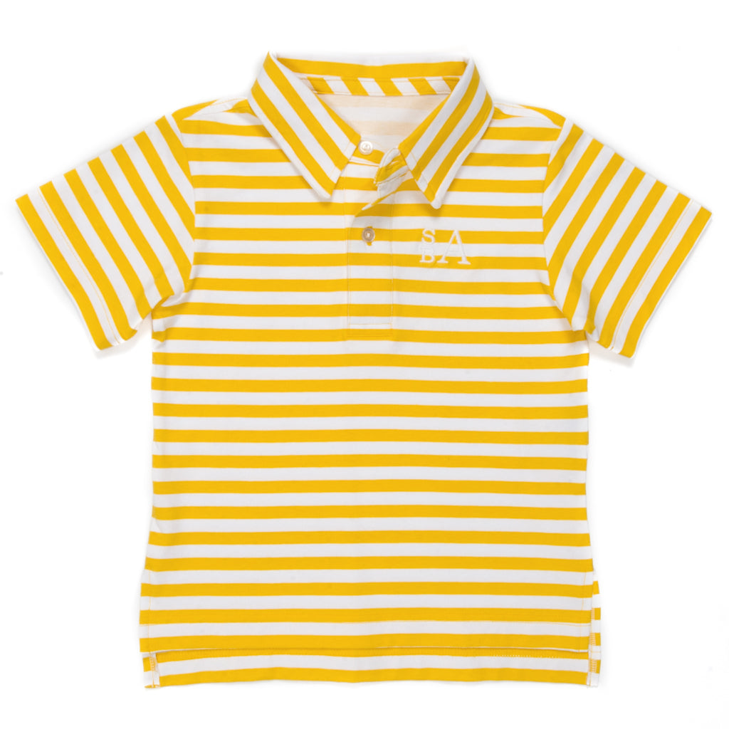 Sunshine Floral Connor Polo