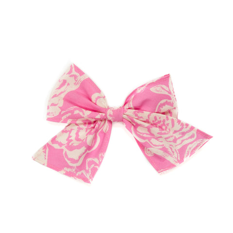 Pink Floral Sonni Bow