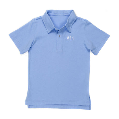 Fresh Breeze Blue Connor Polo