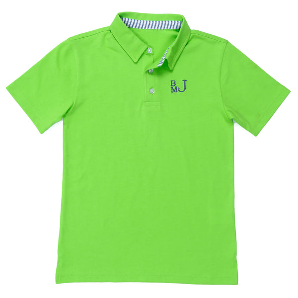 Classic Seersucker Connor Polo