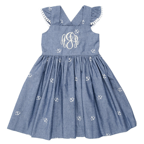Summer Chambray Margaret Dress