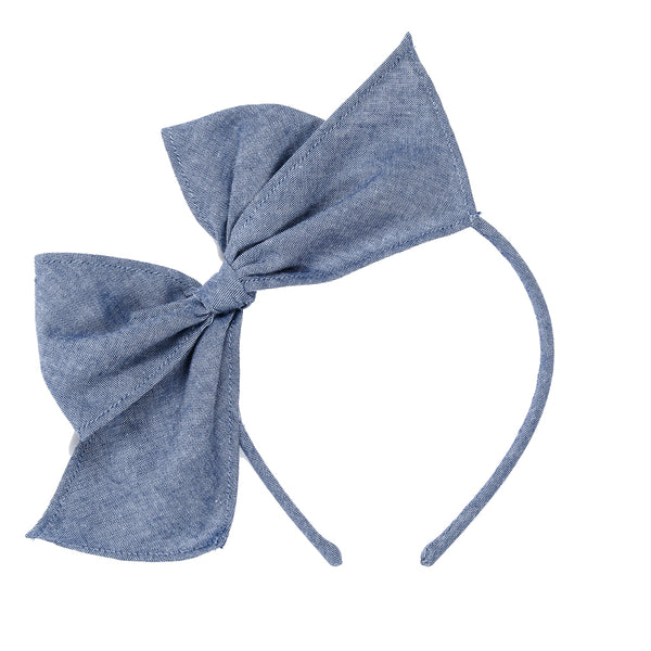 Summer Chambray Bea Headband