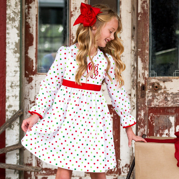 Classic Christmas Alice Dress