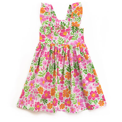 Bright Floral London Dress