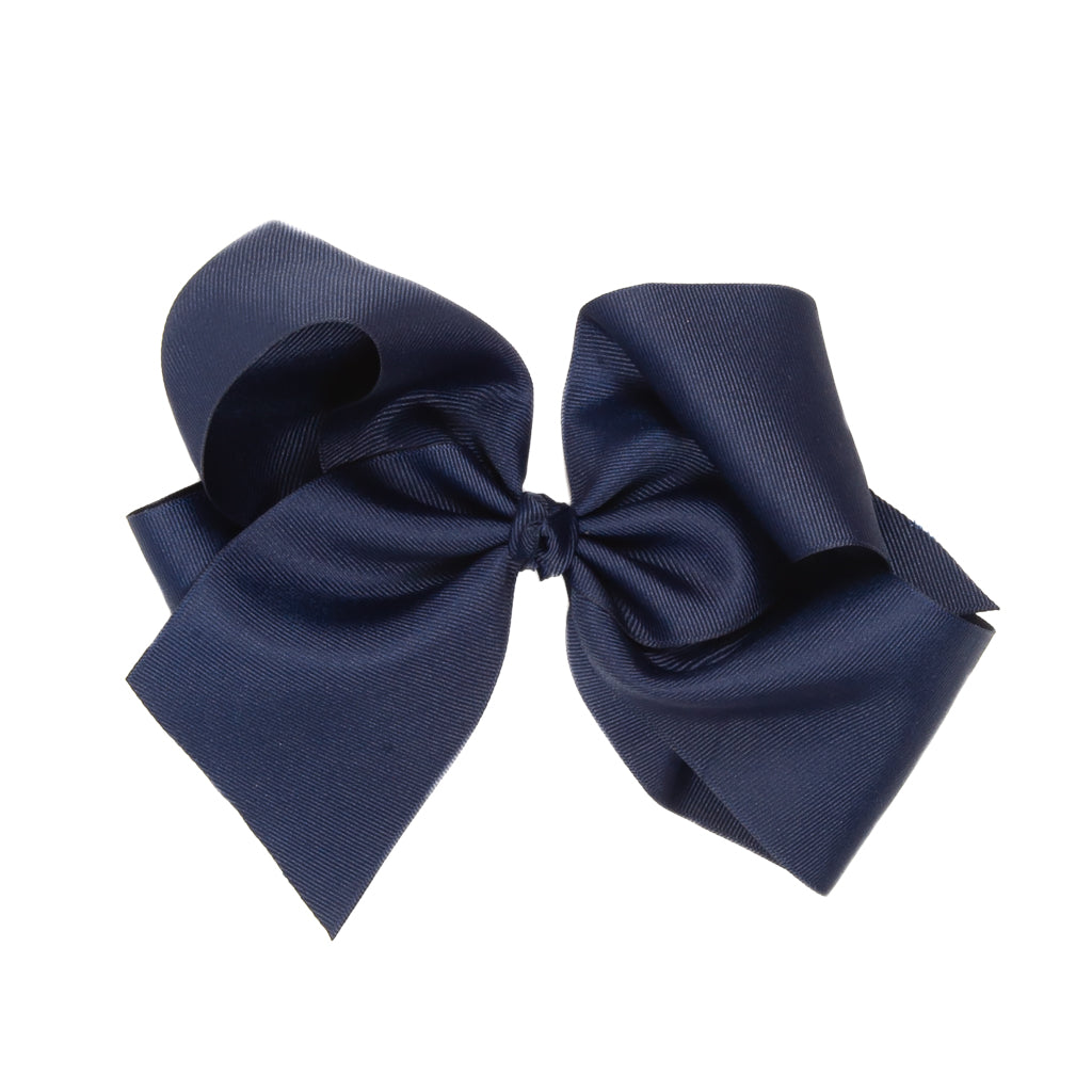 Navy Classic Large Bow