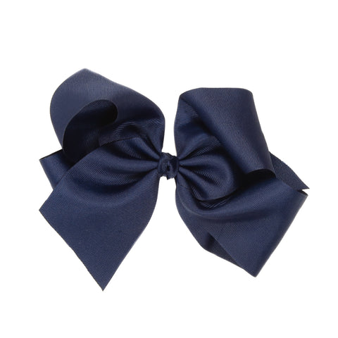 Large Classic Navy Bow
