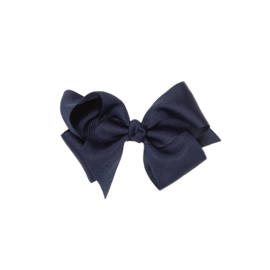 Navy Classic Small Bow