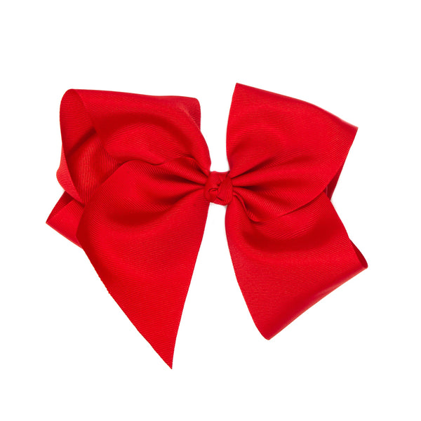 Large Classic Red Bow