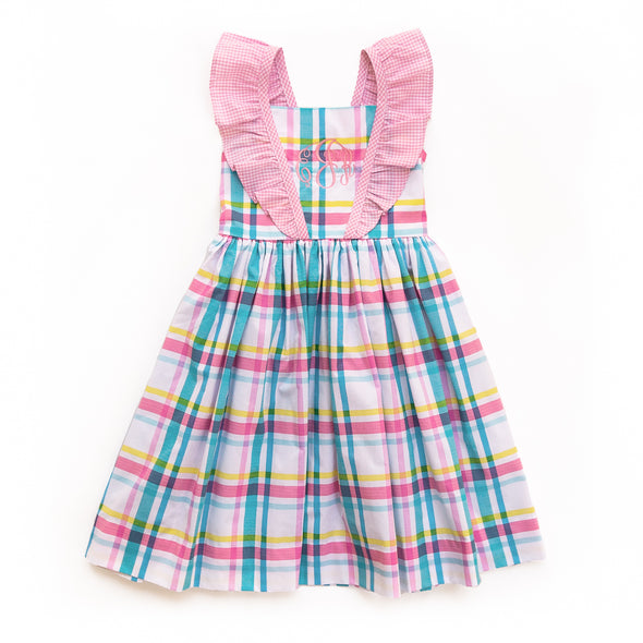 Easter Plaid London Dress