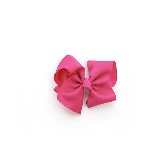 Medium Raspberry Rose Classic Bow