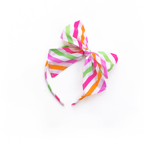 Bright Stripe Bea Headband