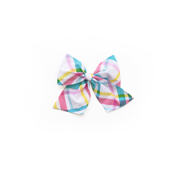 Easter Plaid Sonni Bow