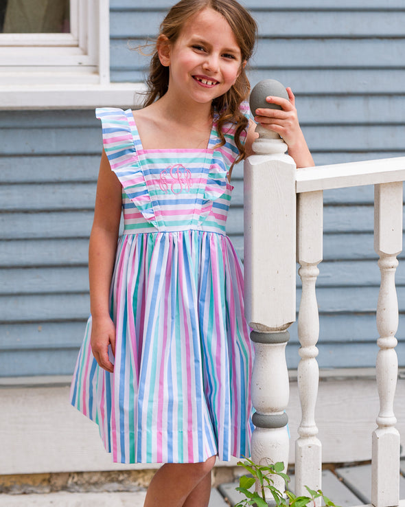 Pastel Stripe London Dress