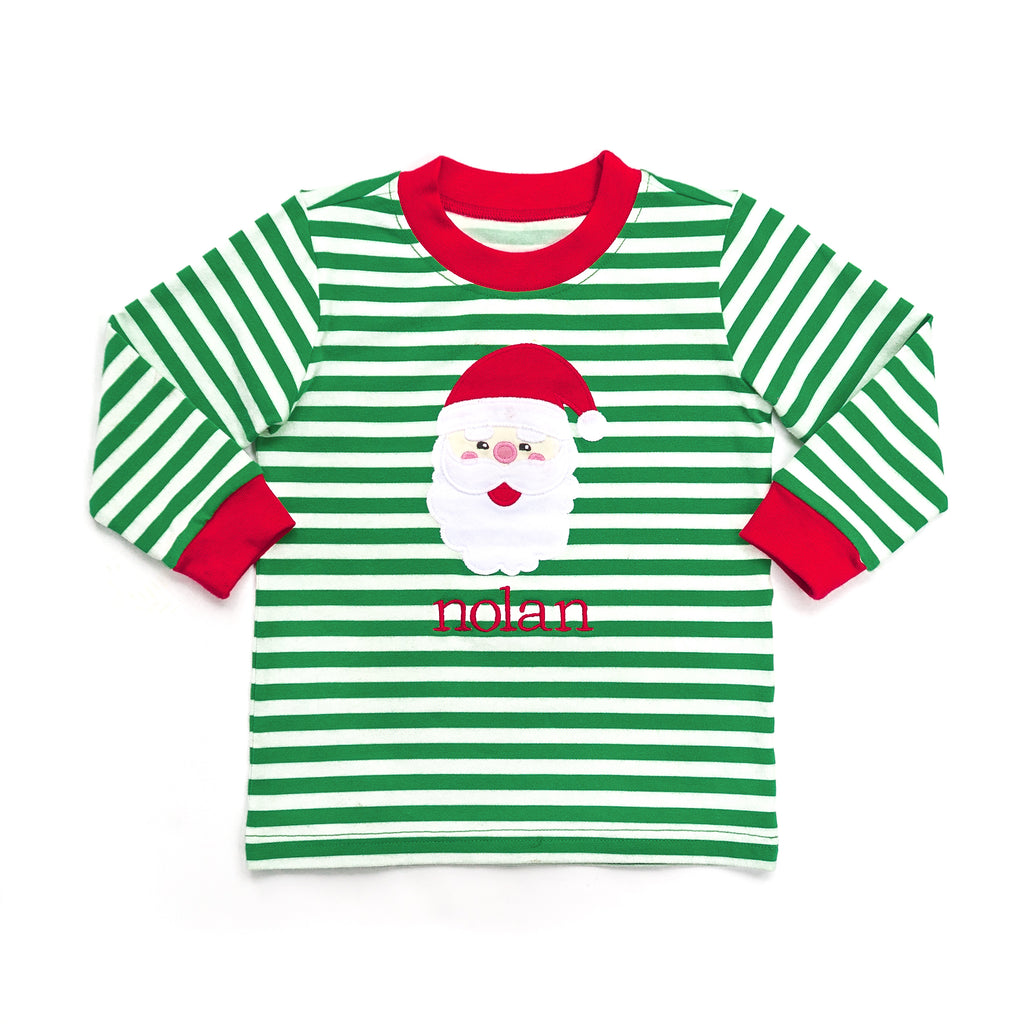 Santa Applique Ryan Tee