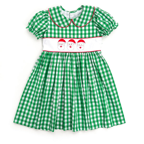Santa Applique Cayden Dress