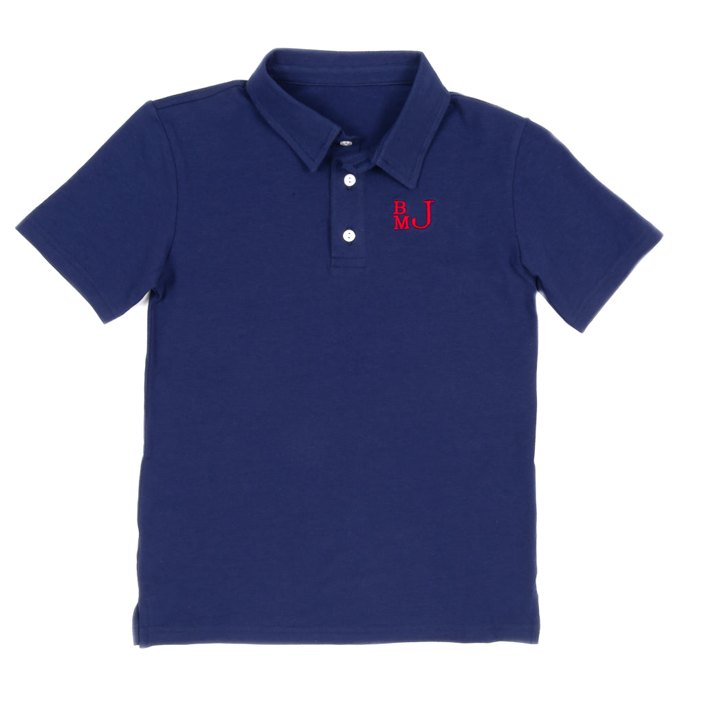 Perfect Patchwork Connor Polo