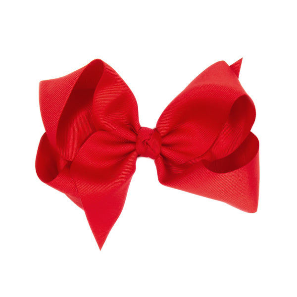 Classic Medium Red Bow