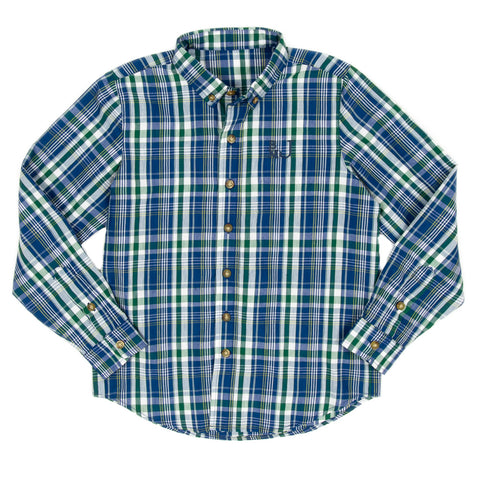 Fall Plaid James Button Down