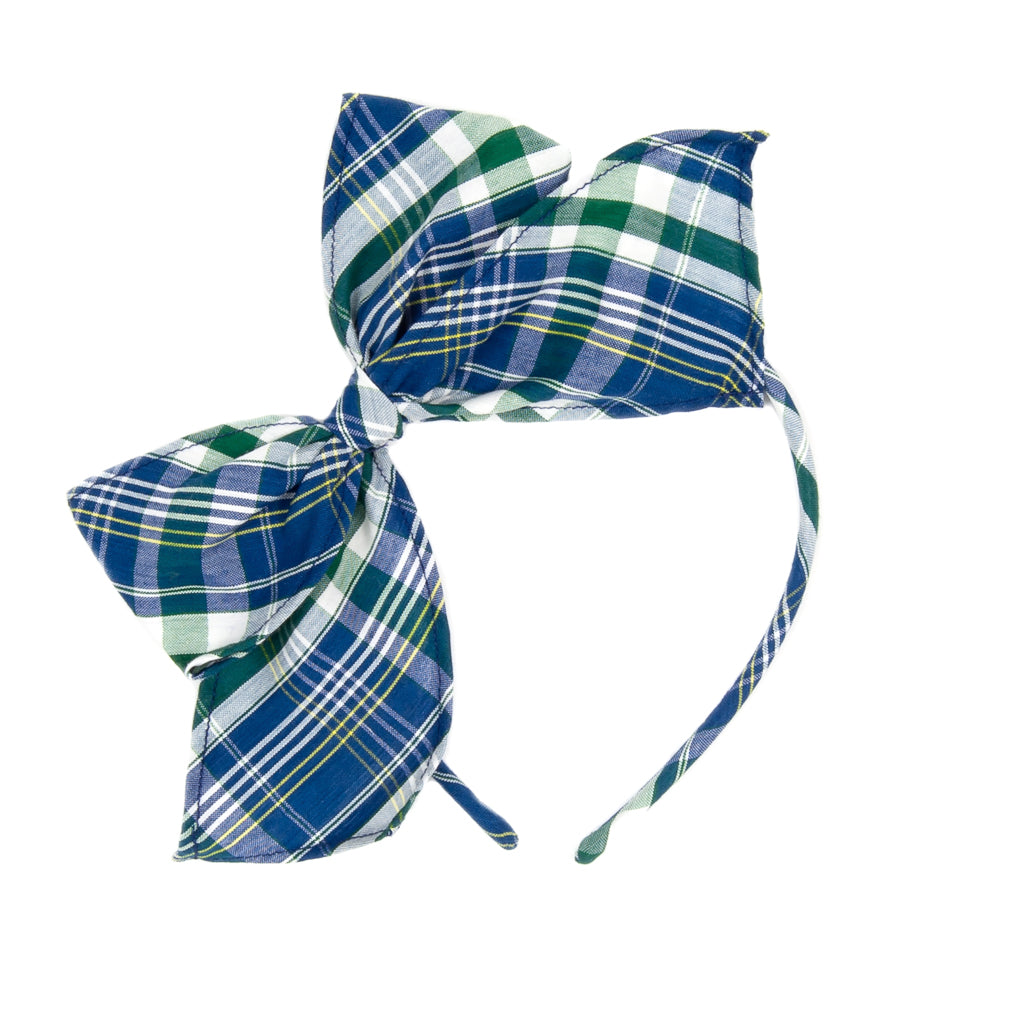 Fall Plaid Bea Headband