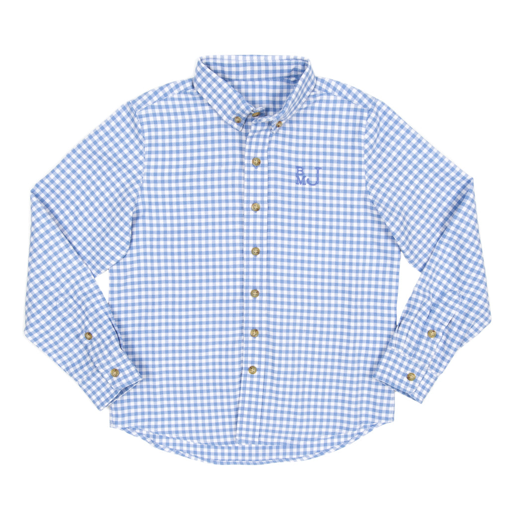 Classic Check James Button Down Shirt