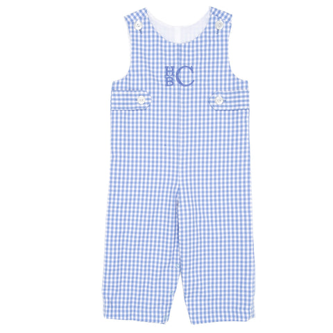 Periwinkle Check Matthew Overall