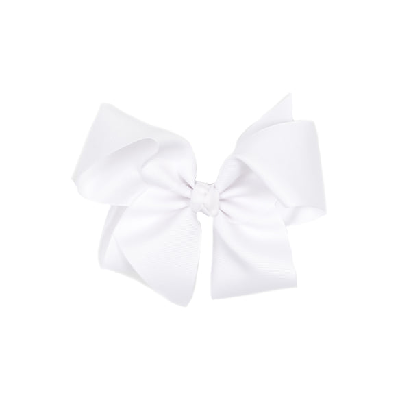 Classic Medium White Bow