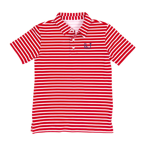 Classroom Chambray and Stripes Connor Polo