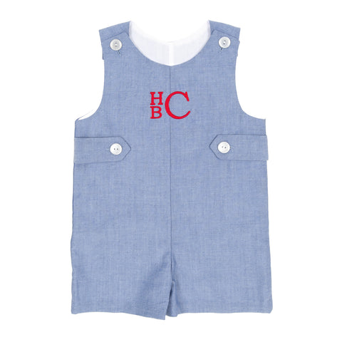 Classroom Chambray and Stripes Caleb John John