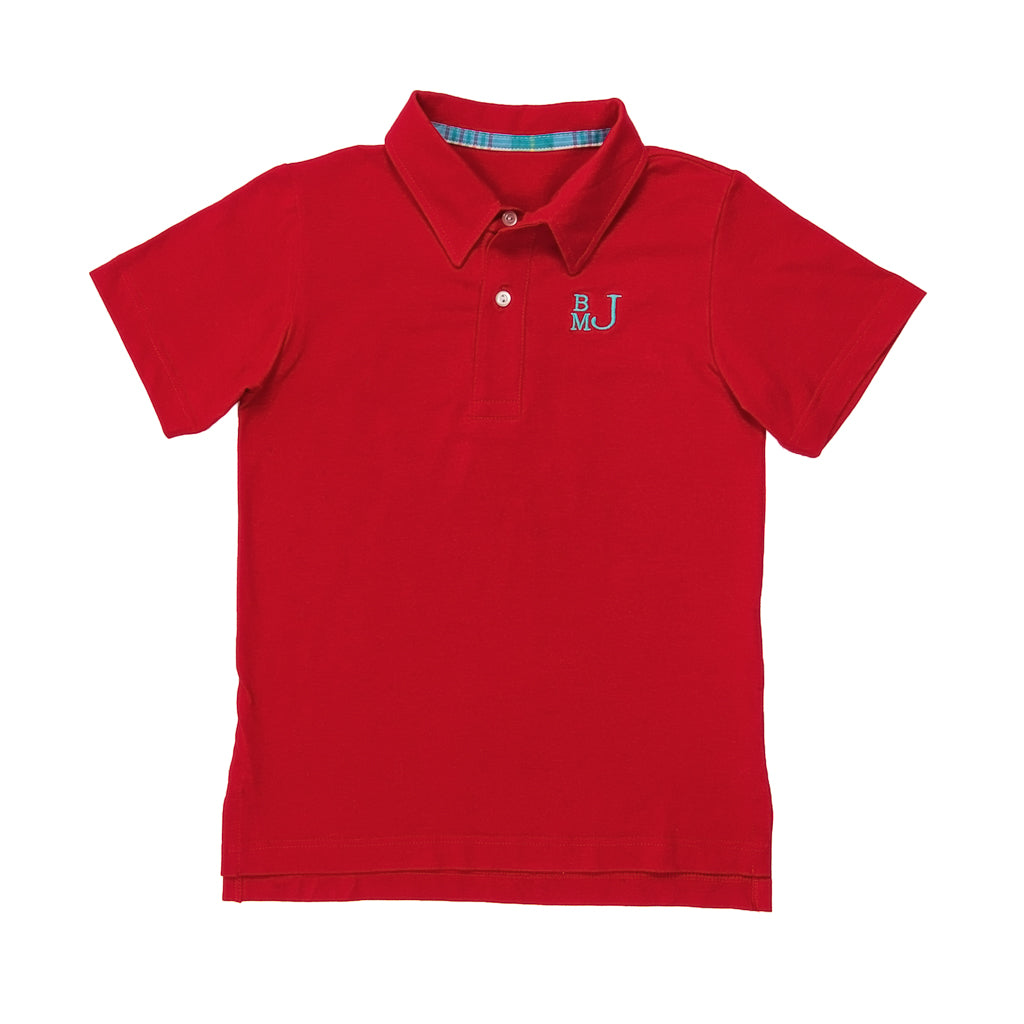 Nautical Patchwork Connor Polo